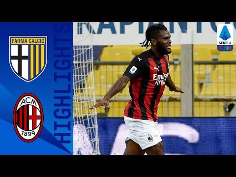 Parma 1-3 Milan   Milan beat Parma to close the gap to Inter to 8 points   Serie A TIM