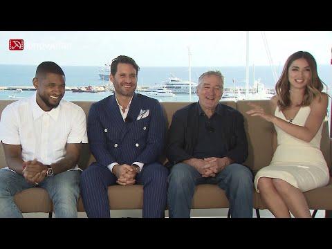 Interview Usher & Edgar Ramírez & Robert De Niro & Ana de Armas HANDS OF STONE Cannes 2016