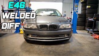 BMW E46 Welding Diff Drift Car Mod! Ep2