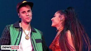 Justin Bieber Announces NEW Album During Surprise Ariana Grande Coachella Set
