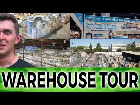 Wholesale Pallet Warehouse Via Trading | Product Sourcing 101
