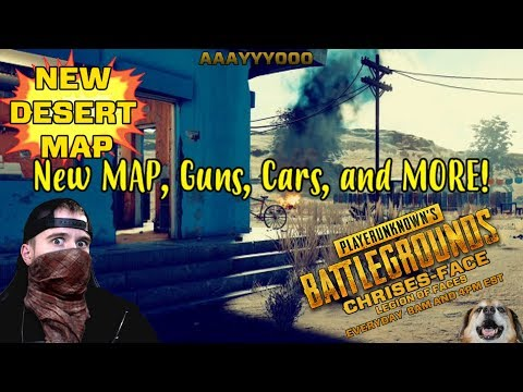 Test Server * Continuing to Explore Miramar *   Live GAMEPLAY w. Chrises-Face Games