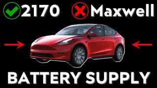 Model Y Battery Supply