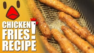 Burger King BK Chicken Fries & White Castle Chicken Rings Recipe Remake - HellthyJunkFood