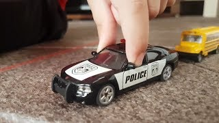 Dlan plays with Siku Cars for Kids