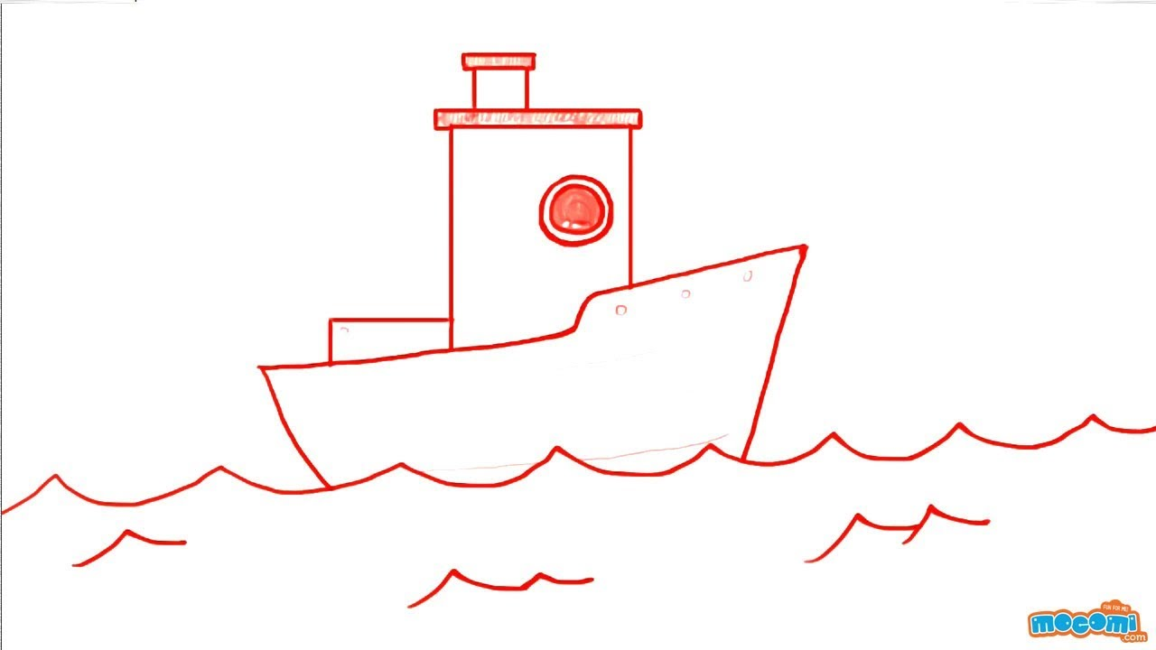 It's just a graphic of Crush A Boat Drawing