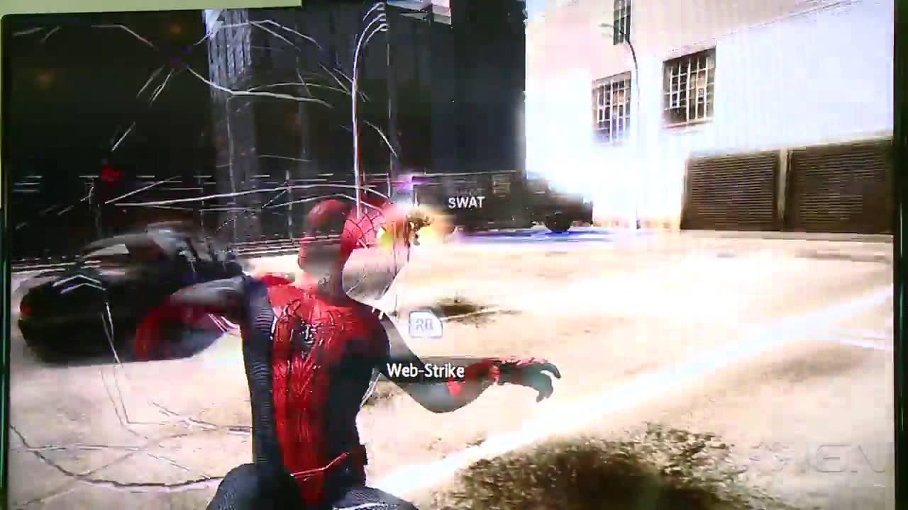 The Amazing Spider-Man Rhino Gameplay (Off Screen) - E3 ...