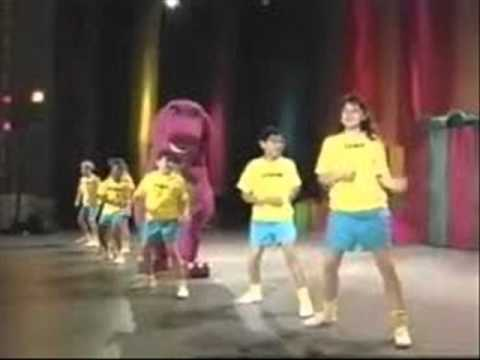barney the backyard gang then now youtube