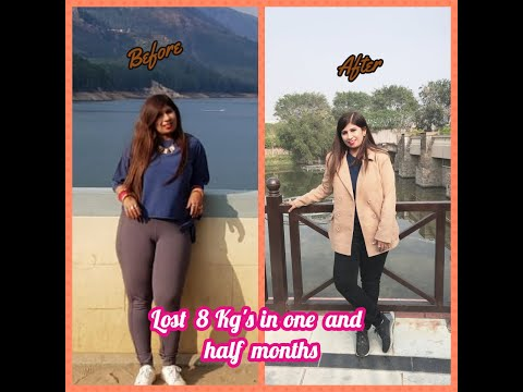 Loose 10 kg's in a month without exercise | Loose weight fast | Healthy weight loss