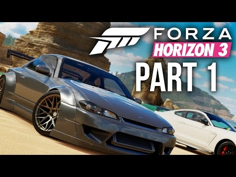 Forza Horizon 3 Gameplay Walkthrough Part 1 - INTRO (Full Game)