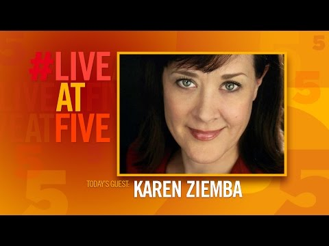 Broadway.com #LiveatFive with Karen Ziemba of KID VICTORY