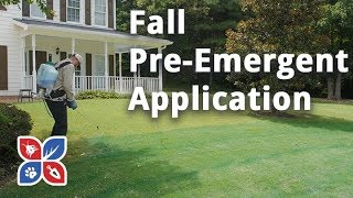 Do My Own Lawn Care - Fall Pre-Emergent Application