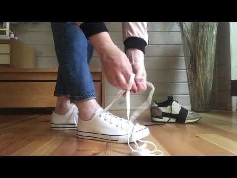3 способа завязывать шнурки модно