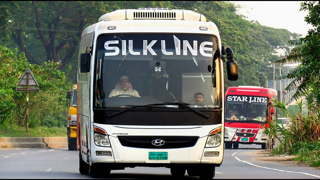 Silk Line Travels Bus Interior full review | Silk Line Travels | Silk Line Travels Hyundai Ac bus