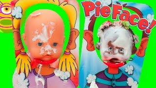 Cara Splash desafío con Luci y Martina! - Pie Face Showdown - Juego del Pastel - Capítulo #59