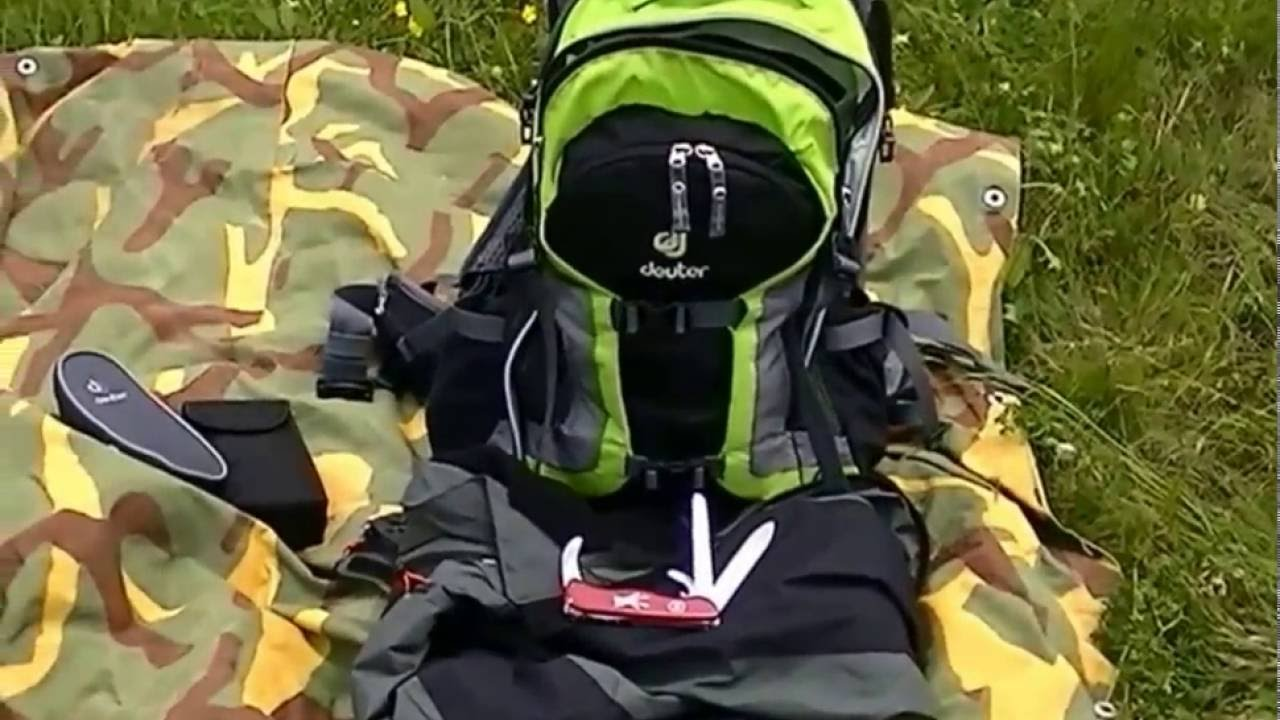4f77a6c831f03 Deuter trans alpine pro 28 thermo bag 3 liter - YouTube