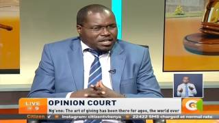 Opinion Court: Debate on Harambees ban