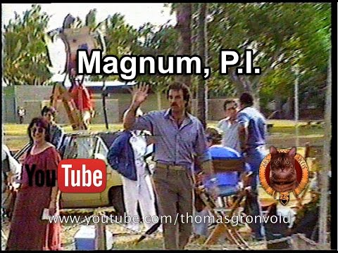 Magnum, P.I. No More Mr. Nice Guy. On location in Hawaii with Tom Selleck.