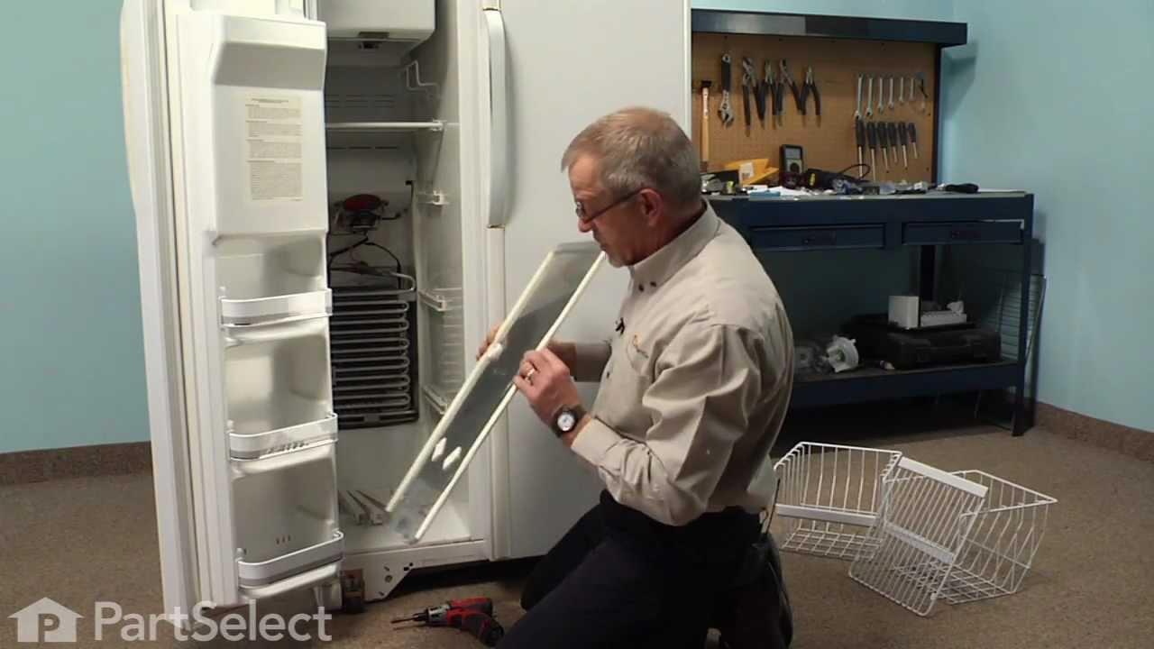 Ge Refrigerator Water Solenoid Wiring Diagram Refrigerator Repair Replacing The Defrost Thermostat