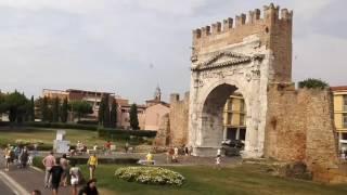 видео Достопримечательности Римини