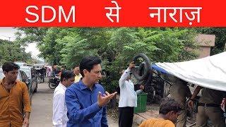 अतिक्रमण अभियान के चलते D.M. Haridwar Deepak Rawat हुए SDM से नाराज़