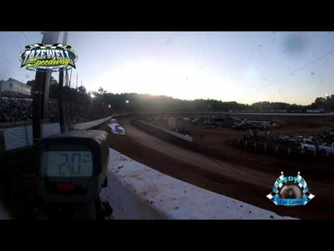 Speed Radar - World of Outlaws - Hot Laps - 6-2-17 Tazewell Speedway