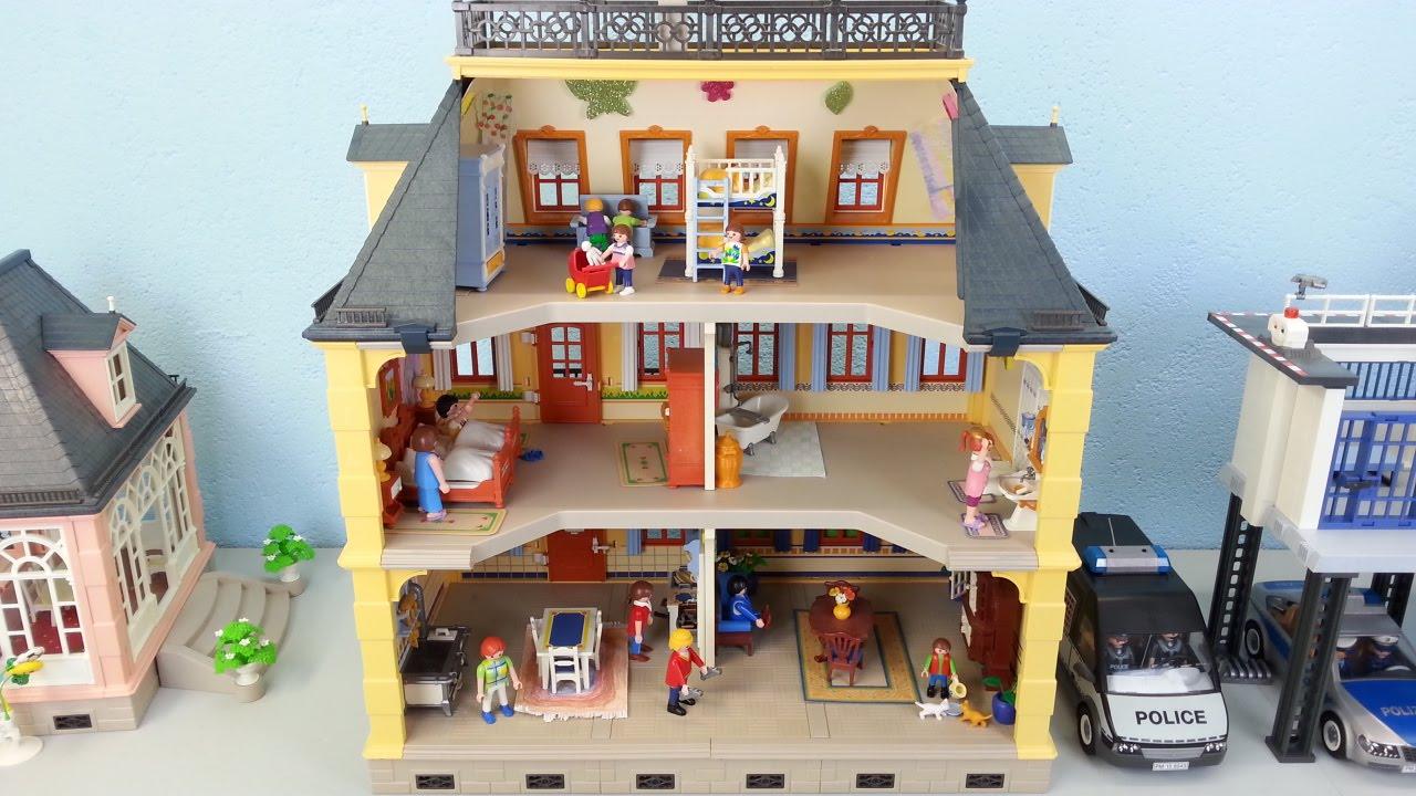 Playmobil Puppenhaus 5301 Komplett Mit Einrichtung Seratus1