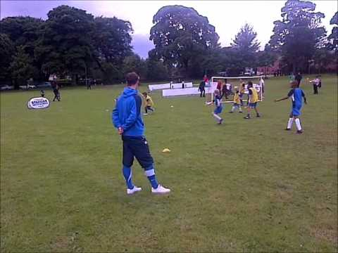 Leeds Brazilian Soccer School,23-6-12 at Roundhay Live.