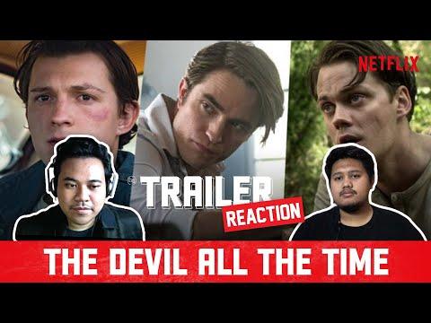 THE DEVIL ALL THE TIME Trailer Reaction | Spiderman, Batman dan IT Dalam Satu Film??  – Eps. 1