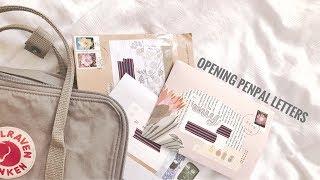 � opening (kpop) penpal letters
