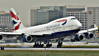 Boeing 747 - THE QUEEN OF THE SKIES COMPILATION | Plane Spotting 2017