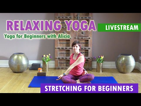 relaxing yoga  yoga for deep sleep stress and anxiety