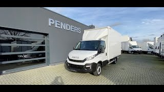 Iveco Daily 35S13 Koffer mit Ladebordwand und Hebebühne (Penders Automobile)