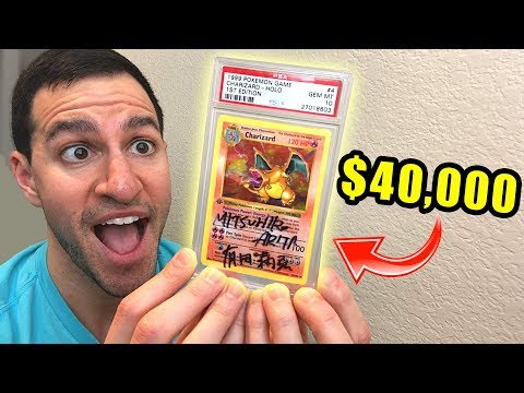 *THE $40,000 POKEMON CARD!* My Top 5 RAREST Booster Packs!