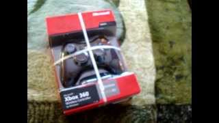unboxing xbox 360 wireless controller wireless receiver