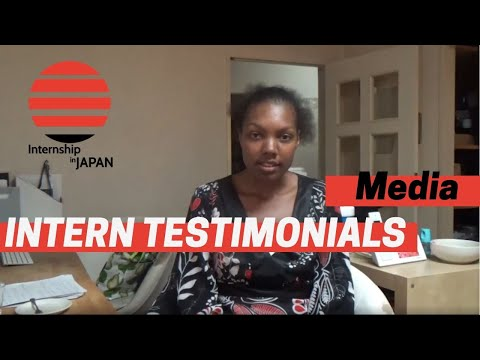 Japan Opportunities - Media Internship Experience