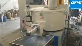 PVC Plastic Granules Making Machine and PVC Mixer Machine  (In Vietnam)