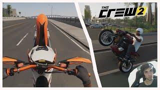 THE CREW 2 - Wheelings en Moto (SCDkey) 😎
