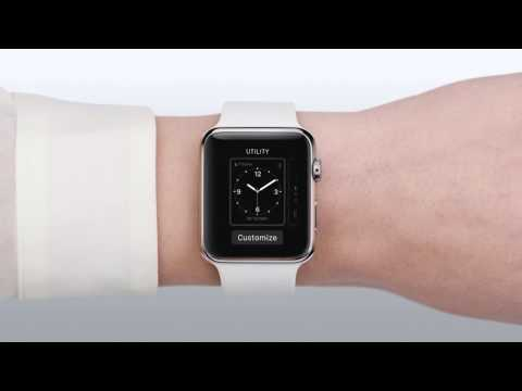 Apple Watch видео инструкция на русском - циферблаты