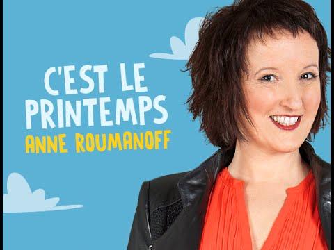 ANNE ROUMANOFF - C'est le Printemps !