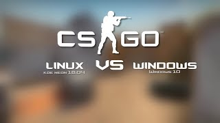 [Benchmark Linux vs Windows]  CS:GO on Laptop with GTX 1060 6GB