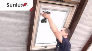 Sunlux Roller blind Installation