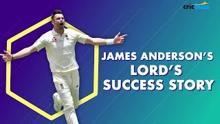 James Anderson's love-affair with Lord's