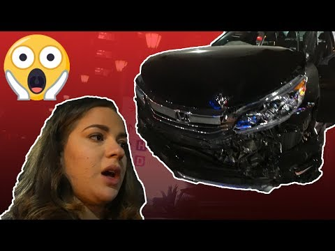 Thumbnail: WE GOT INTO A HUGE CAR CRASH!!! (My car is wrecked)