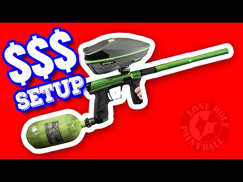 Most Expensive Speedball Setup In 2020 | Paintball Marker Package | Lone Wolf Paintball Michigan