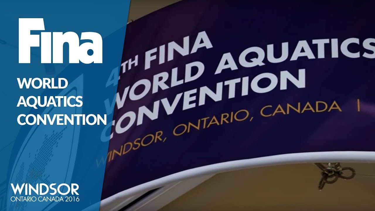 Highlights - FINA World Aquatics Convention - Windsor 2016