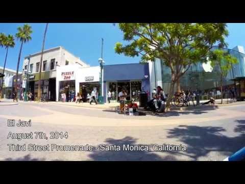 El Javi - August 7th, 2014 - 3rd Street Promenade - Santa Monica, California