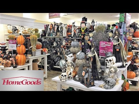 HOME GOODS HALLOWEEN DECORATIONS FALL DECOR HOME DECOR - SHOP WITH ME SHOPPING STORE WALK THROUGH 4K