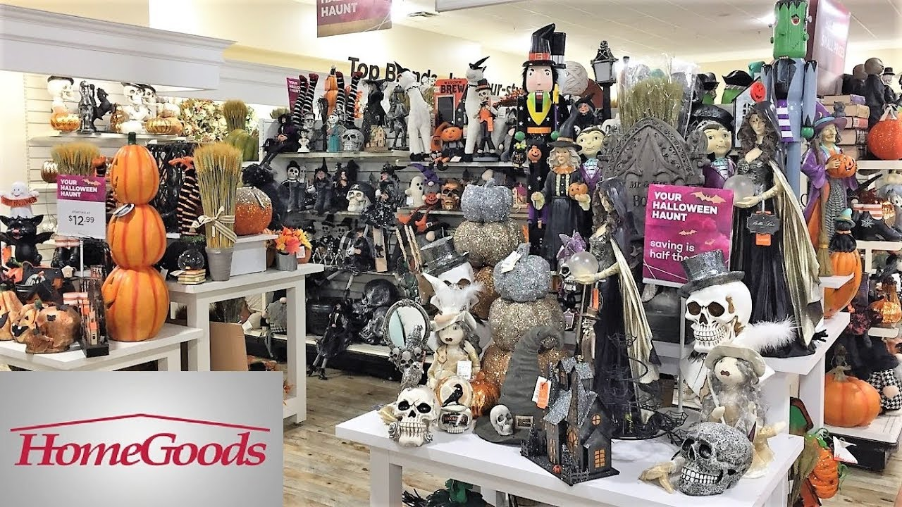 HOME GOODS HALLOWEEN DECORATIONS FALL DECOR HOME DECOR   SHOP WITH ME  SHOPPING STORE WALK THROUGH 4K