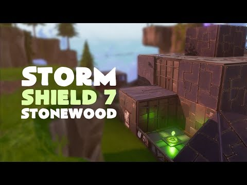 Solo Tips - Storm Shield Defence Level 7 Stonewood | Fortnite (Save the World)